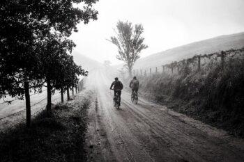 roadside biking