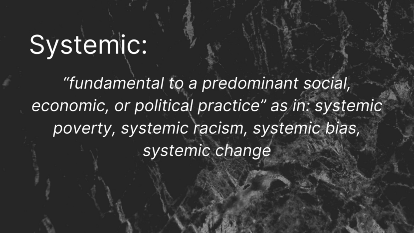systemic definition